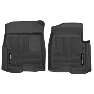 Husky X-act Contour Floor Liners for 2009-2014 Ford F-150 Crew Cab [Front Row]