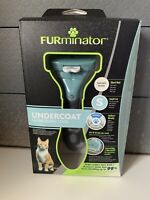 FURminator Undercoat deShedding Tool for Small Short Hair Cat -