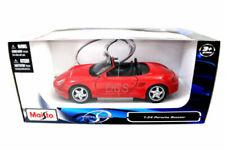 Véhicules miniatures rouges Porsche