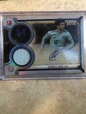 2018-19 Topps Museum Collection Thomas Muller Autograph Relic 71/75 Bundesliga