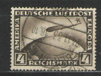 Germany 1928-31 Air Mail Sc# C37 Used VG/F - Nice used 4m Zeppelin