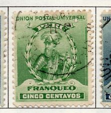 Peru 1895-1902 Early Issue Fine Used 5c. 182261