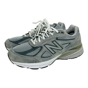 New Balance Men's 990 V4 Gray Running Shoes M990GL4 Made In USA Sz 10.5 Sneakers