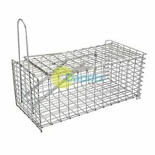 Rat Cage Trap - 300mm Trap Fast Efficient Pest Rodent Control Repel