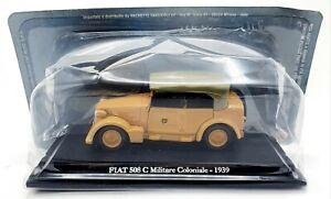 EBOND Modellino Fiat 508C Militare Coloniale - 1939 - Die cast - 1:43 - 0088.