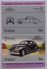 1941 PACKARD CLIPPER Car Stamps (Leaders of the World / Auto 100)