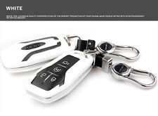 White FOB Remote Key Cover Shell Fit for Ford Taurus Explorer Mustang Smart Key