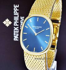 Patek Philippe Vintage 3748 Ellipse 18k Yellow Gold Windup Watch 3748/1