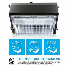100 watt LED wall pack light.  UL Approved.  11,000 Lumens