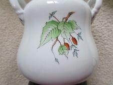 Hungarian Herend Lamp-Hazelnut Pattern, hand-painted