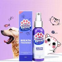 Pet Dental Spray Dog Oral Care Bad Breath Teeth Cleaning Freshener