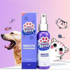 Pet Dental Spray Dog Oral Care Bad Breath Teeth Cleaning Freshener