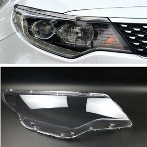 For KIA K5 Optima 2016-2018 Headlight Headlamp Clear Lens Auto Shell Cover Right