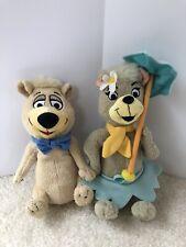 """Hanna Barbera 8"""" CIndy Boo Boo Bear Plush THE YOGI BEAR SHOW Stuffed Animal Lot"""