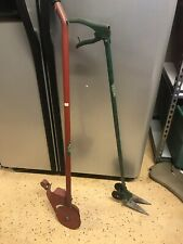 1940's. 50's.  Lawn Manual Weed Eater And Edger.