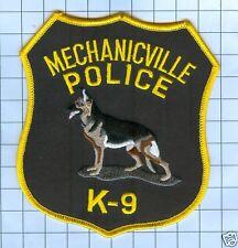 Police Patch  - K9 -MECHANICVILLE New York