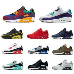 2021 90 Men and women Running shoes Trainer Cushion Surface Breathable Sportssho
