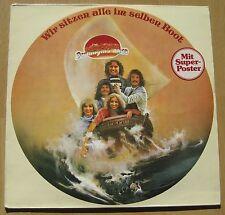 Vinyl LP DSCHINGHIS KHAN - Wir sitzen alle im selben Boot RARE !!!