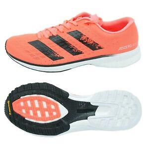 Adidas Men Adizero Adios 5 Shoes Running Coral Training Sneakers GYM Shoe EG1196