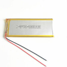3.7V 3000mAh Polymer Li Battery Rechargeable For DVD Mobile phone MP3 6040100