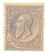BELGIUM #59, Mint hinged, Scott $72.50