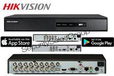 Hikvision 4/8/16 canales DVR HD 1080p 3MP HD-TVI dispositivo antimanipulación analógico Hdmi Vga Coaxial