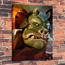 "Home Decor Art QUALITY CANVAS PRINT Oil Painting Gamorrean Guard ,12""x16"""