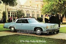 Old Print.  1976 Oldsmobile Delta 88 Royale - auto