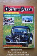 Oldtimer Praxis 7/93 Citroen 11 CV Cadillac Opel Rekord