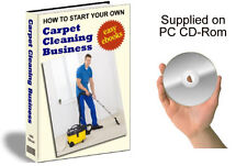 CARPET CLEANING - Easy low cost business opportunity - work from home.