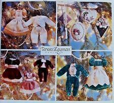 9529 Victorian Christmas Tree Ornaments Potpourri Sachets Pattern UNCUT