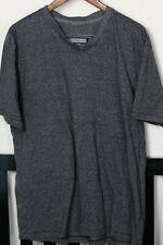 aqua t-shirt Men/'s L LARGE XL $48 Paper Denim /& Cloth PD/&C henley heather red