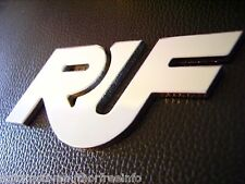 Ruf PORSCHE 911 930 964 993 996 997 959 986 RUF Logo Hood Badge (Hand Crafted)