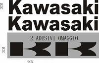 FE kit 2 KAWASAKI + 2 logo AUFKLEBER STICKERS decals logo ninja z r rr /927