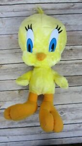 "Tweety Bird Looney Toons Plush 15"" Stuffed Animal Toy - Excellent Condition"