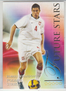 Futera 2010 Future Stars Robert Lewandowski Poland Rookie