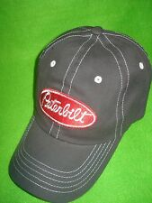 PETERBILT HAT:   Charcoal Grey Twill / Solid cloth Back  *Free Shipping in U S A