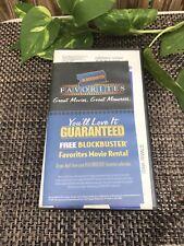 Blockbuster Rental VHS Defunct  Video VCR Prop Case Dink The Little Dinosaur
