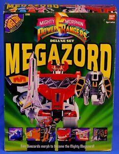 MIGHTY MORPHIN POWER RANGERS DELUXE MEGAZORD 1993 SEALED BANDAI #2260