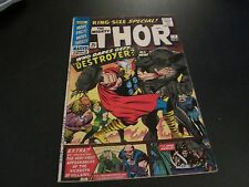 THOR: KING-SIZE SPECIAL #2 AWESOME DESTROYER COVER!!! SEE MY OTHERS!!!