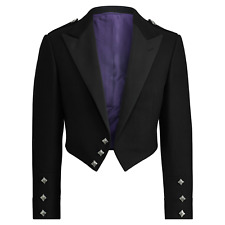 Ralph Lauren Purple Label Wool Melton Tuxedo Blazer Jacket Tailcoat New $6995