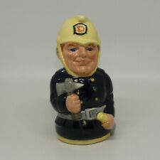 Royal Doulton Doultonville toby jug Fred Fearless the Fireman D6809
