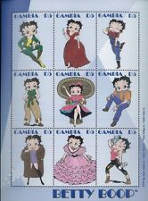 BETTY BOOP #2206 MNH Sheet of 9 - Gambia E68