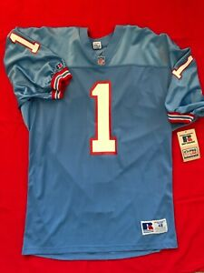 Houston Oilers Authentic Russell Athletic Pro Line Warren Moon Jersey New NWT