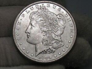 BU Better Date 1884 Morgan Dollar. #46