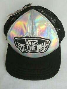 "VANS ""Off The Wall"" Iridescent Front Hat No Size 1 New"
