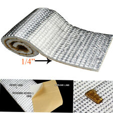 "Heat Shield Insulation Sound Deadener Material -Noise Kill Thermal Proof 28""x39"""