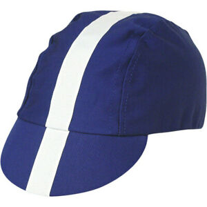 Pace Sportswear Classic Royal Blue Hat with White Cycling Cap