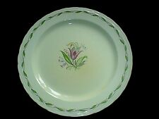 BURLEIGH WARE BURGESS & LEIGH Princess 10 inch Plate x 1 c1940 (6 available)
