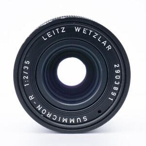 Leica Summicron-R 1:2/35 Leitz Wetzlar Germany / Weitwinkel Objektiv